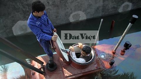 Thử nghiệm tàu ngầm Trường Sa:Tâm nguyện năm mới của ông Hòa