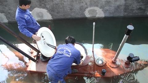 Thử nghiệm tàu ngầm Trường Sa: Dễ dàng ra biển lớn