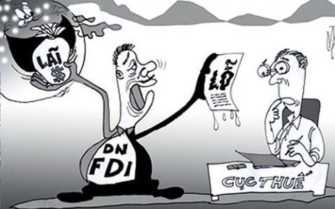 doanh nghiệp FDI khai lỗ tới hơn 68 ngàn tỷ trong năm 2013, giữa lúc các nghi án chuyển giá vẫn đang làm nóng công luận...