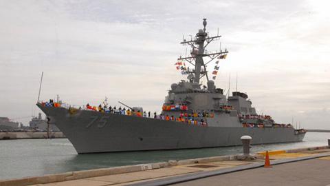 Bộ Quốc Phòng Mỹ ngày 10/4 đã chính thức xác nhận việc điều động tàu khu trục tên lửa Donald Cook đến khu vực Biển Đen, một ngày sau khi kế hoạch của Lầu Năm Góc bị rò rỉ cho giới truyền thông.