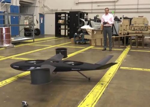 Nguyên mẫu máy bay Phantom Swift kích thước nhỏ đang được Boeing thử nghiệm.