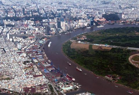 Theo quy hoạch, sẽ có 5 cây cầu bắc qua sông Sài Gòn như bàn tay 5 ngón kết nối trung tâm mới của TP HCM và trung tâm hiện hữu.