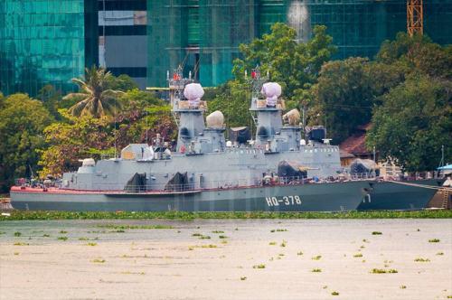 Cận cảnh 2 tàu tên lửa nội địa Molniya đầu tiên của Hải quân Việt Nam.