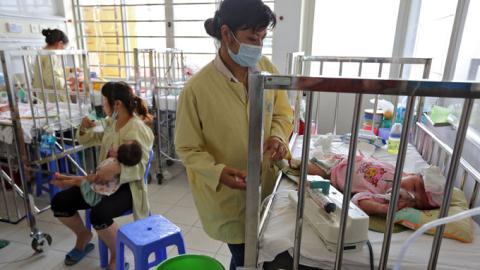 Hiện đã có tới 120 bệnh nhi tử vong do biến chứng sau sởi