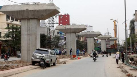 Dự án đường sắt Cát Linh - Hà Đông bị đội vốn lên gần 100%