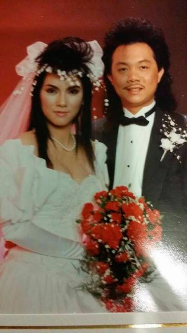 Danh hài Chí Tài chia sẻ ảnh cưới nhân ngày kỷ niệm 27 năm gắn bó cùng bà xã