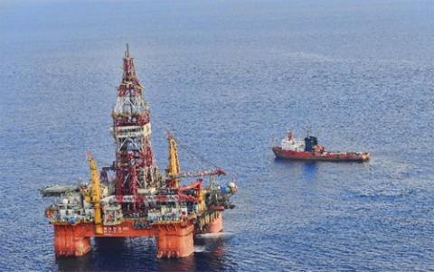 Giàn khoan HD-981 khổng lồ của Trung Quốc đã vào vùng biển chủ quyền của Việt Nam