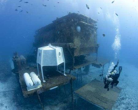 Một phòng nghiên cứu ngay dưới đáy biển của quốc gia châu Âu