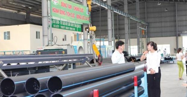NTP đang tập trung vốn cho sản xuất ống nhựa HDPE cỡ lớn