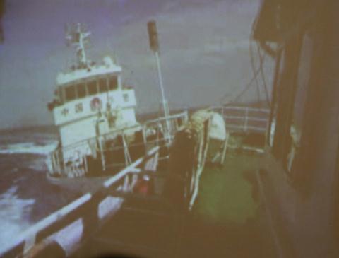 Tàu Trung Quốc ngang ngược húc tàu Việt Nam