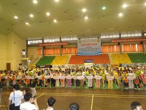 Giải thể thao chào mừng ngày Khoa học và Công nghệ Việt Nam tại Hà Nội