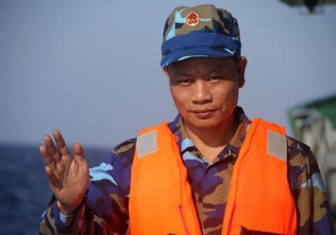 Trung tá Phan Duy Cường, trợ lý tác chiến Bộ tư lệnh