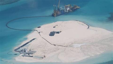 Philippines tố cáo Trung Quốc lấn biển trên đảo Gạc Ma