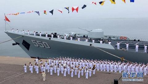 Trung Quốc đang ồ ạt đóng mới các chiến hạm