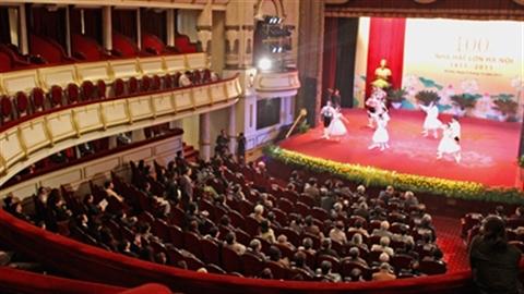 Việt Nam yêu văn hóa, chi hơn 10.000 tỷ cho nhà hát