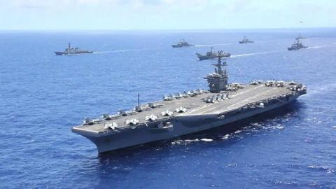 Chiến hạm Mỹ và đồng minh trong cuộc diễn tập