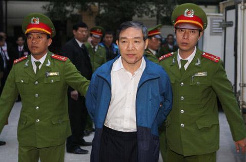 Dương Chí Dũng bị tuyên án tử hình về hành vi tham ô