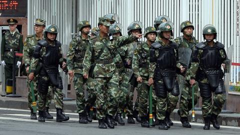 An ninh Trung Quốc siết chặt tại Tân Cương