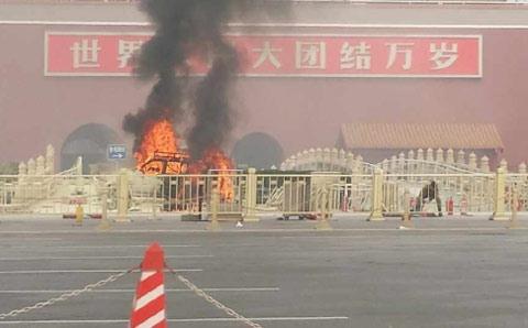 Đánh bom ở Thiên An Môn được cho là của những nhóm khủng bố Duy Ngô Nhĩ thực hiện