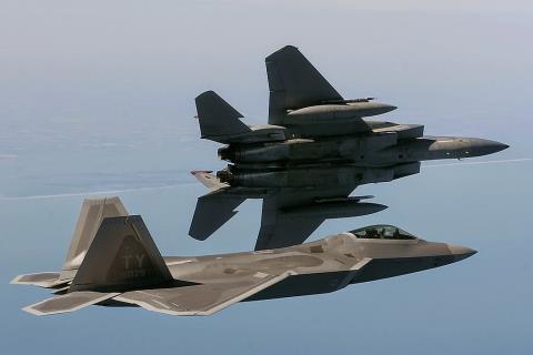 F-22 và F-15 của Không quân Mỹ sẽ tham gia tập trận cùng với MiG-29 và Su-30MKM của Không quân Malaysia.