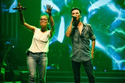 Với cá tính âm nhạc lẫn tích cách khá tượng đồng nhau, sự kết hợp của cặp đôi này hứa hẹn sẽ đốt cháy sân khấu Dấu ấn tối 7/6.