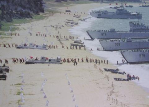 Quân đội Trung Quốc tập trận chiếm đảo