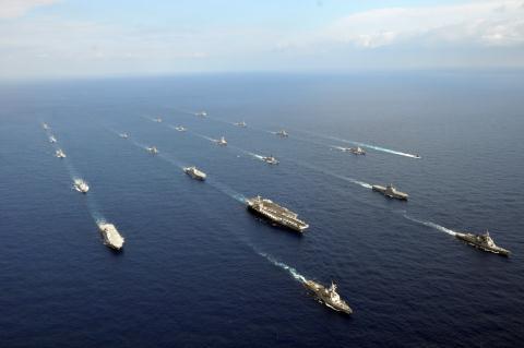 Hạm đội 7 của Mỹ thường trú tại khu vực gần biển Nhật Bản