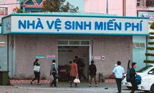 Nhà vệ sinh miễn phí ở bến xe Trung Tâm Đà Nẵng