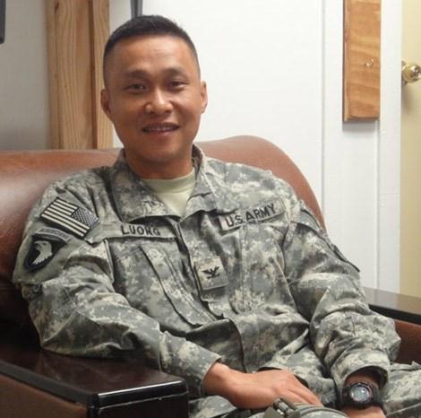 Chân dung vị tướng người Mỹ gốc Việt đầu tiên Lương Xuân Việt.