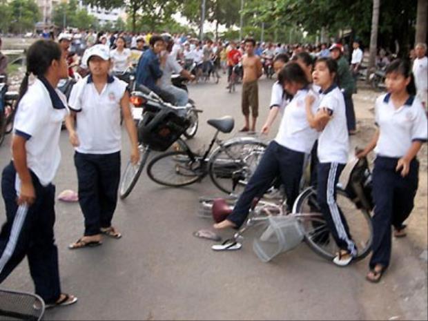 Tình trạng bạo lực học đường ngày càng trở nên phổ biến (Ảnh minh họa)
