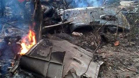 Hiện trường vụ tai nạn trực thăng tại H��a Lạc