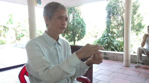 Ông Bùi Văn Kiên chia sẻ về thảm cảnh của chiếc lò đốt rác phát điện