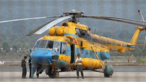 Vụ rơi máy bay Mi-171: Tạm ngưng bay huấn luyện