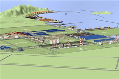Formosa Hà Tĩnh sẽ thành khu gang thép lớn nhất Đông Nam Á