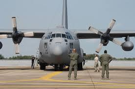 Máy bay này có khả năng cất hạ cánh đường băng ngắn (STOL) từ các đường băng dã chiến, C-130 ban đầu được thiết kế như một máy bay vận tải, cứu thương và vận chuyển quân. (ảnh máy bay C-130 của Mỹ)