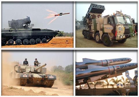 Các vũ khí hiện đại tự sản xuất trong nước của Ấn Độ