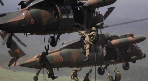 Quân đội Nhật Bản tập trận đổ bộ tái chiếm đảo
