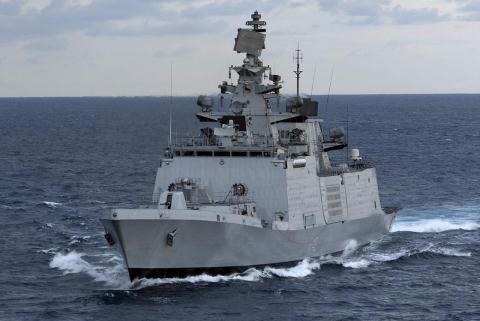 Khinh hạm tàng hình lớp Shivalik