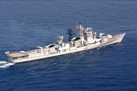Tàu khu trục tên lửa lớp Rajput của Ấn Độ