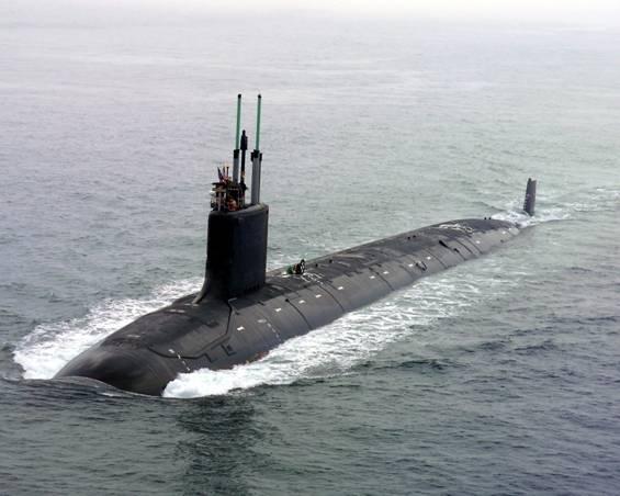Tàu ngầm tấn công lớp Virginia của Mỹ