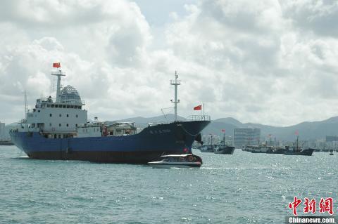 """Tàu bảo đảm tổng hợp mang số hiệu """"Quỳnh Tam Á"""" F8168"""