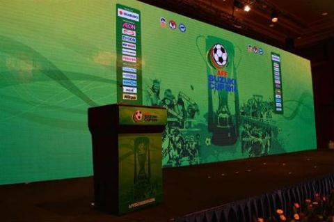 Bốc thăm AFF Suzuki Cup 2014