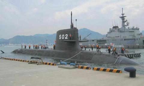 Tàu ngầm thông thường, sử dụng hệ thống động lực AIP lớp Soryu của Nhật