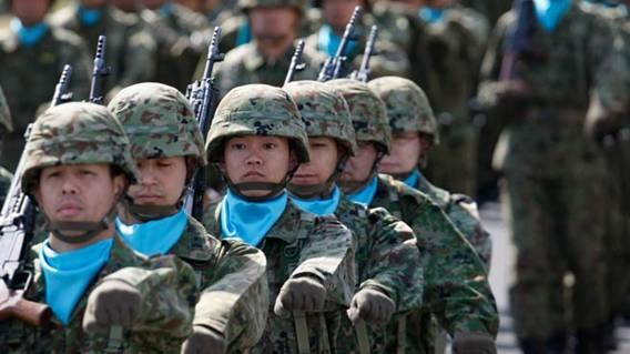 Binh sĩ Nhật Bản tham gia lực lượng gìn giữ hòa bình của LHQ