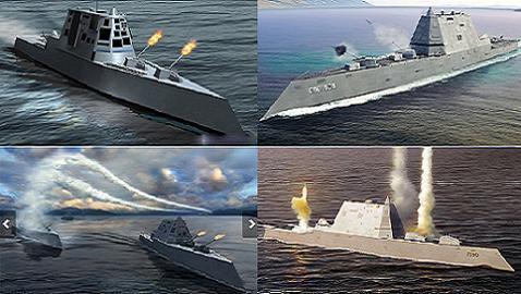 Khu trục hạm tàng hình lớp Zumwalt được coi là tàu khu trục số 1 thế giới