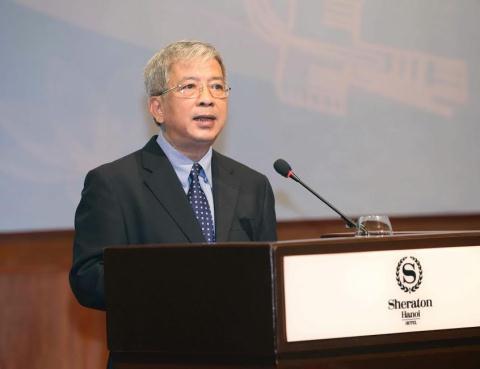 Thứ trưởng Quốc phòng Nguyễn Chí Vịnh phát biểu tại hội nghị