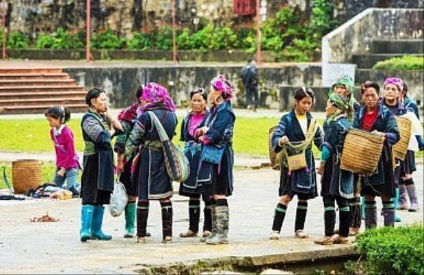 Phụ nữ Hmong ở Sa Pa. Ảnh: Shutterstock