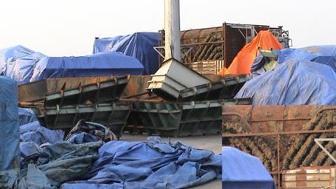 Máy biến thế chứa dầu nhiễm PCB bị bỏ ngoài trời gần bảy năm tại cảng Cái Lân