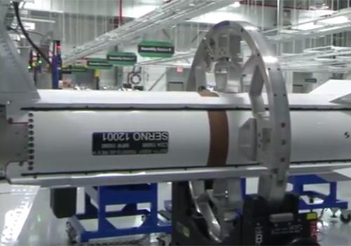 Các tên lửa đánh chặn hàng khủng này được sản xuất từ nhà máy sản xuất tên lửa Alabama của hãng chế tạo Raytheon.