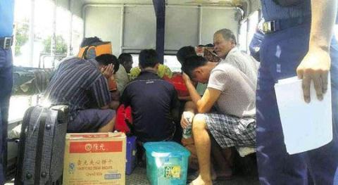 11 ngư dân Trung Quốc bị cảnh sát biển Philippines bắt giữ hôm 6/5.